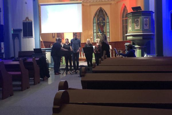 Kyrkja i Leveld i Ål